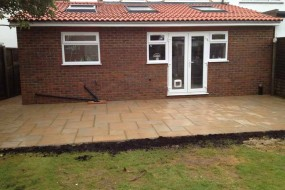 Extension an patio